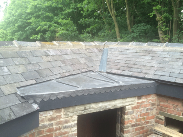 New bay lead roof done in notton Wakefield