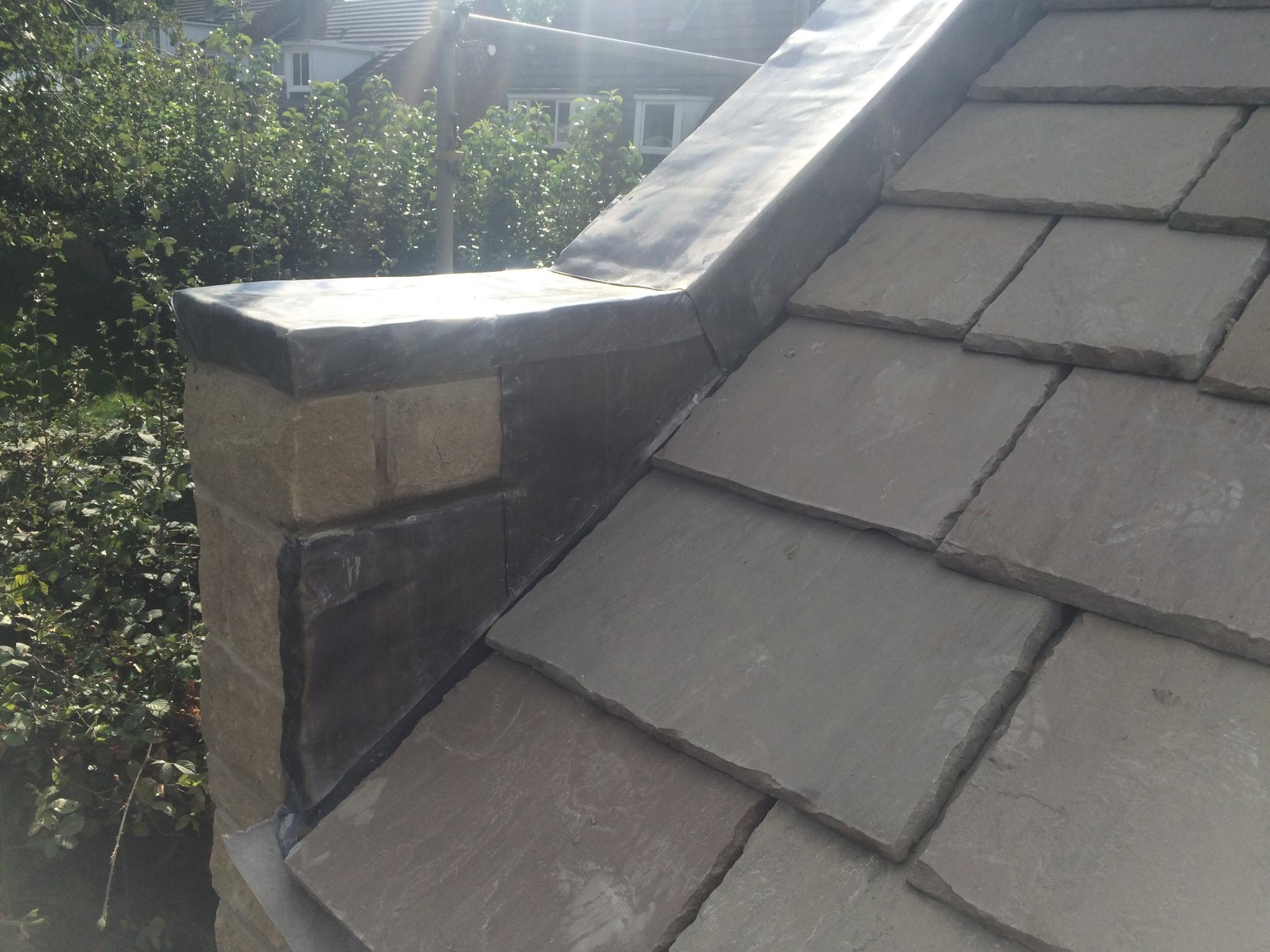 Flat Roof Bridges : Lead work craig bridges roofing